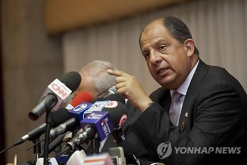 朴槿惠将同哥斯达黎加总统索利斯举行会谈