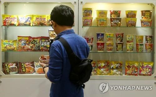 韩2016年方便面出口有望创历史新高