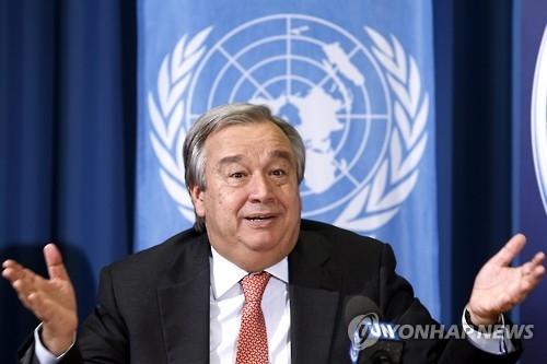 韩政府对古特雷斯被推举为联合国秘书长表示欢迎