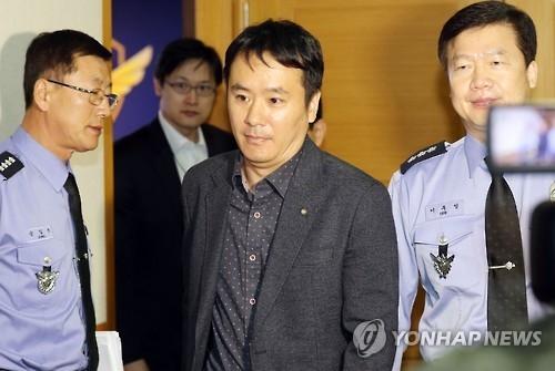 韩海警抗议中国渔船撞沉海警快艇后逃逸
