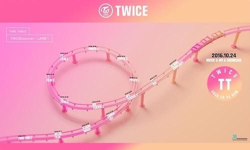 TWICE携迷你三辑回归 日程表曝光