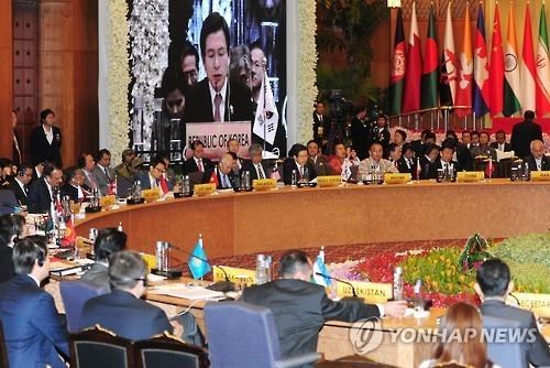 韩总理出席亚洲合作对话峰会促朝弃核