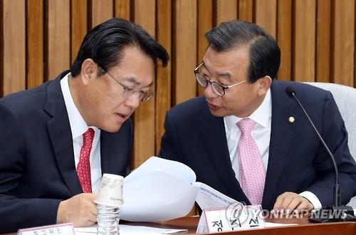 韩各党一致谴责中国渔船撞沉海警快艇