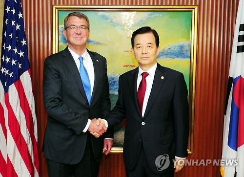 韩美国防外交首脑下周连续开会商讨应对朝核方案