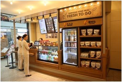 韩式速食机场热卖 外国消费者比重增至五成