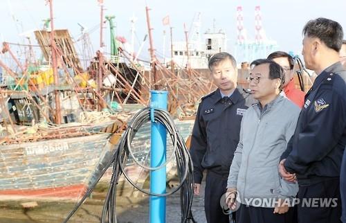 韩执政党首批中国渔船撞沉海警快艇 斥海警应对不力