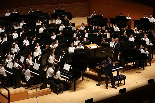 郎朗将访韩同百名韩国青少年同台演奏