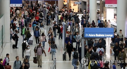 访韩中国游客呈年轻化趋势 20-39岁占比激增