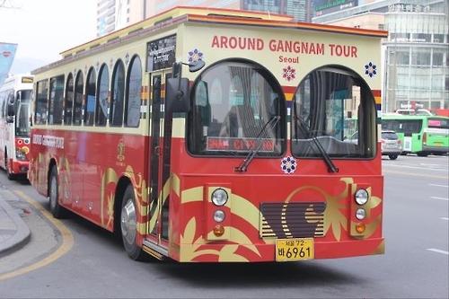 首尔城市旅游巴士江南环线延至乐天世界大厦