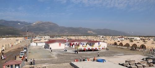 韩在土耳其修建的叙利亚难民学校揭牌