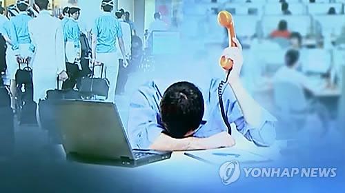 调查:韩国人职场受气元凶是上司