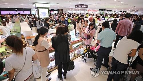 今年韩各家免税店销售总额有望超600亿元
