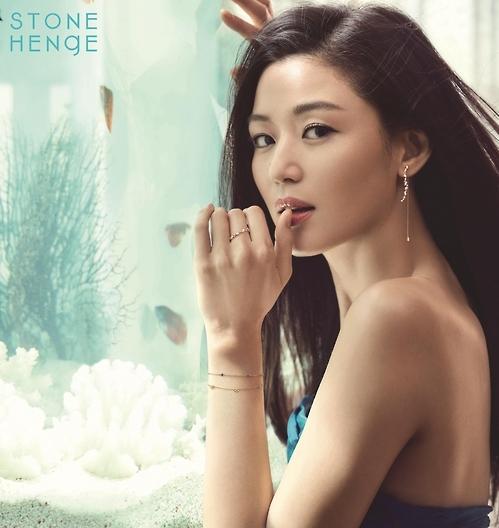 韩星全智贤代言韩国珠宝品牌STONEHENgE