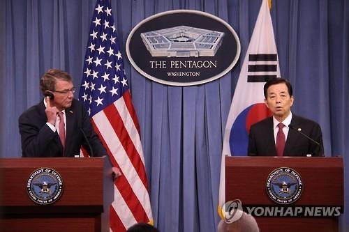 韩防长:在声明中标记特定武器名称缺乏战略考量