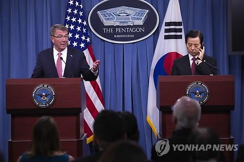 韩美就在韩长期部署美战略武器步调不一