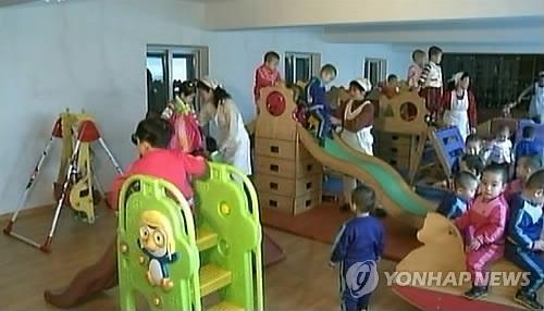 朝鲜中央电视台2014年3月播出的画面截图。图片仅限韩国国内使用,严禁转载复制。(韩联社/朝中社)