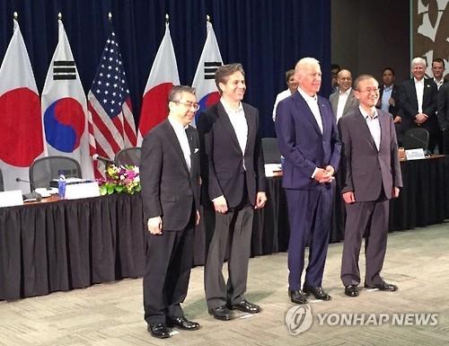 韩美日将举行副外长会议商讨朝核问题