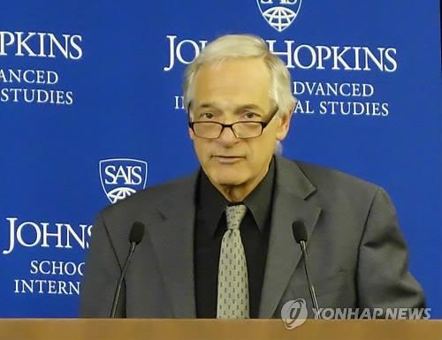 资料图片:美国前朝核特使罗伯特•格鲁奇(韩联社)