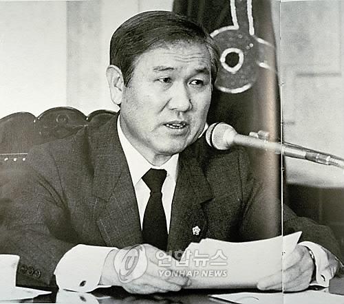 资料图片:前总统卢泰愚(韩联社)