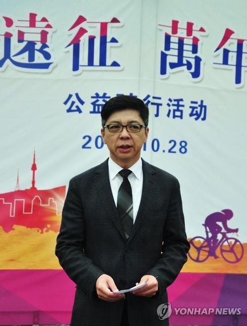 2016旅韩中国留学生公益骑行抱川站启幕