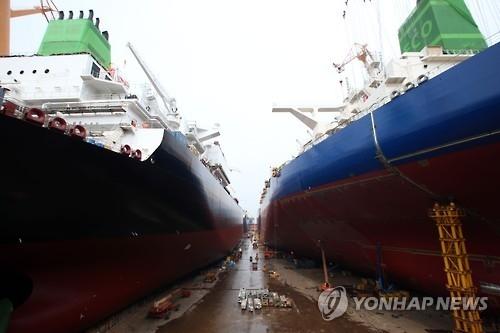 韩政府公布造船业竞争力提升方案