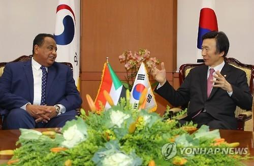 苏丹外长访韩会见韩外长:苏方完全中断与朝合作