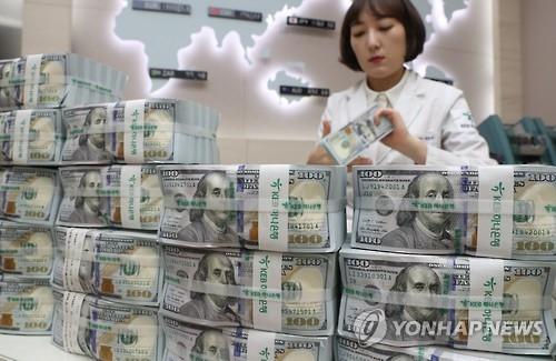 韩10月外汇储备为3751亿美元 时隔三个月减少