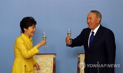 哈萨克斯坦总统下周访韩会晤朴槿惠