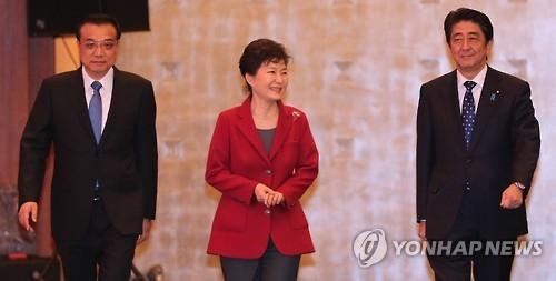 """韩外交部:""""干政门""""不会影响韩中日领导人会议"""