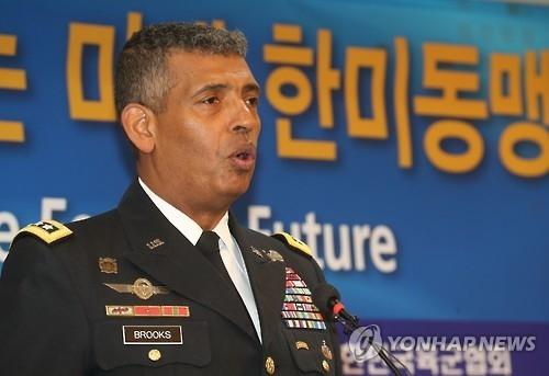 """驻韩美军司令:最快于明年上半年完成""""萨德""""入韩"""