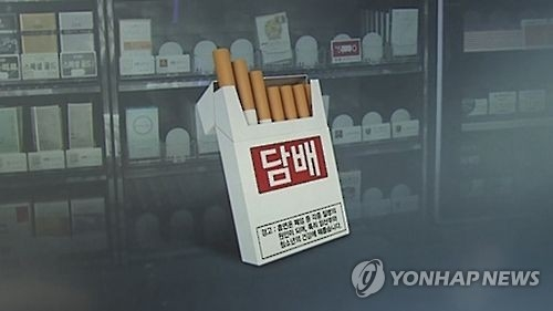 韩烟价上调促成年男性吸烟率首次跌破40%