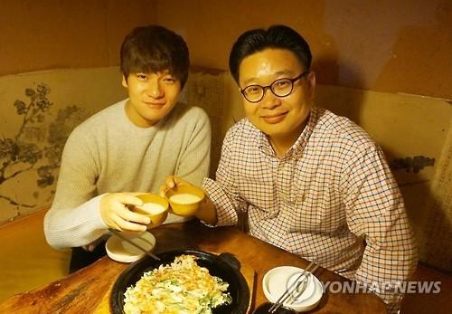 张玉安明在沪宣传韩国传统米酒玛可利