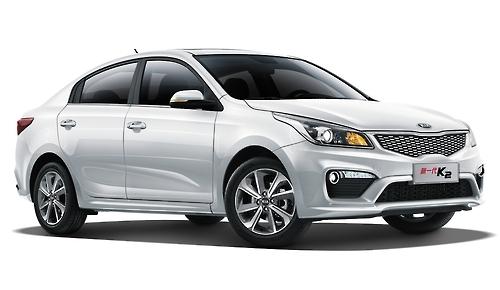 新一代K2渲染图(韩联社/起亚汽车提供)