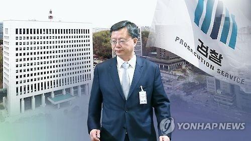 前青瓦台负责民政事务的首席秘书禹柄宇 (韩联社)