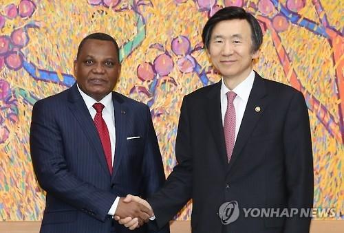 韩刚果外长会晤共商深化合作事宜