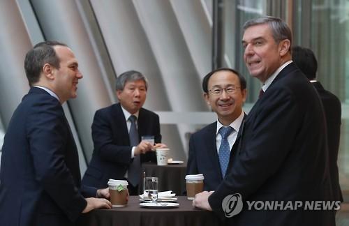 韩美财界人士聚首商讨美大选后双边经贸合作