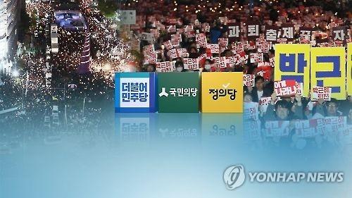 韩民众明日烛光集会或成亲信门局面分水岭