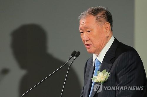 资料图片:现代汽车会长郑梦九(韩联社)