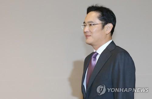 资料图片:三星电子副会长李在镕(韩联社)