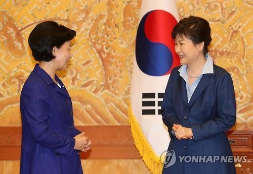朴槿惠决定明日单独会见最大在野党党首