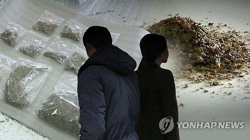 韩外籍毒犯同比大增 中国人占半