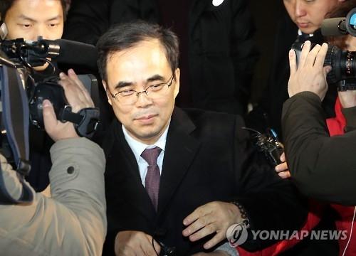 资料图片:韩国文化体育观光部前任第二次官金钟(韩联社)