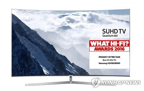韩中全球电视市场份额差距大幅缩小