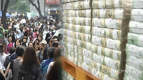 统计:韩国人省吃俭穿 消费持续萎缩