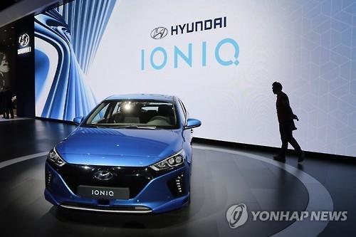 韩混动车一枝独秀销量占比近95%