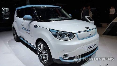 起亚秀尔EV成10月德国最畅销电动汽车