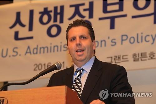 美驻韩大使:美新政府半岛政策尚不明 韩美同盟将加强