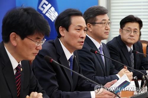 韩反对党争取周五弹劾朴槿惠