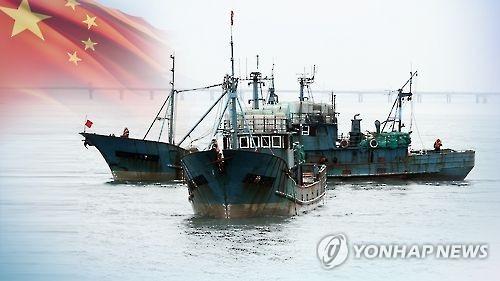 韩海警实弹射击强硬应对后中国非法渔船同比减半