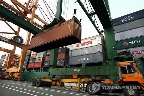 韩11月出口额同比增2.7% 半导体出口向好